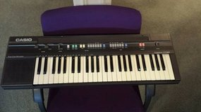 Retro Casio CT-360 Electric Piano Keyboard w/ Pulse Code Module in Yorkville, Illinois