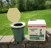 RELIANCE Luggable Loo, 5 Gal Portable Chem Toilet, New, Never Used NOS in Brookfield, Wisconsin