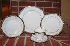Noritake Porcelain China - Ellington 3691, 5-Piece Place Setting - EUC!! in Wheaton, Illinois