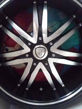 20 inch borghini wheels in El Paso, Texas