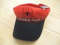 spiderman visor, adjustable in Plainfield, Illinois