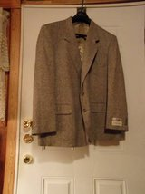 #OFCC JEFFREY BANKS MEN'S 100% SILK JACKET SIZE 48 SHORT in Fort Hood, Texas