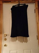 #OFCC WOMENS ANGORA BLEND LINED SKIRT SUIT SIZE 14 NAVY BLUE in Fort Hood, Texas