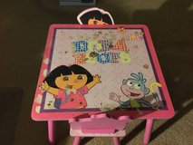 Dora the Explorer and Boots, 3-Piece Table and Chairs, Wood in Sugar Grove, Illinois