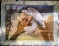 Angel Sleeping Print in Fort Campbell, Kentucky