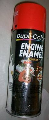 Dupli-Color Ceramic Chevrolet Orange Engine Paint in St George, Utah