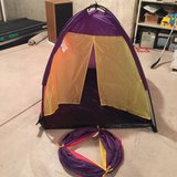 3 Kids Play Tents (Princess Castle, School Bus, Tent w/ Tunnel) in Yorkville, Illinois