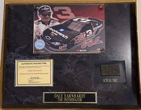 dale earnhardt wall plaque with piece of goodyear racing tire #199959 in Montezuma, Georgia