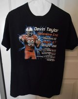 new collectible nfl devin taylor t-shirt defensive end for detroit lions size m in Beaufort, South Carolina