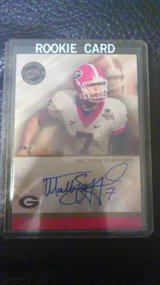 Matthew Stafford Autograph Rookie Card RARE!!!!! in Warner Robins, Georgia
