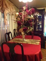 Cherry formal dinning set in Cleveland, Texas