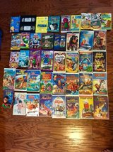 42 Kids Children's Movies VHS and DVDs in Camp Lejeune, North Carolina