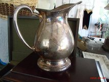 Old Marshall Field Water Pitcher in Lockport, Illinois