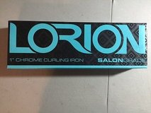 NEW lorion beauty diamond technology 1 INCH  clipless curler heat glove turquoise new in Kingwood, Texas