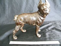 l@@k! antique cast iron hubley doorstop boston terrier dog, large size! 2 screw in Camp Lejeune, North Carolina