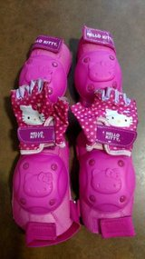Cute! Bell Hello Kitty Pedal and Go Protective Gear (T=45) in Fort Campbell, Kentucky