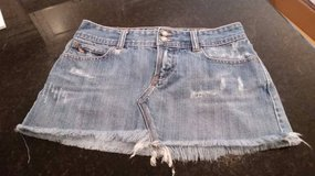 Abercrombie & Fitch Mini Skirt - Jeans - Size 0 in Glendale Heights, Illinois