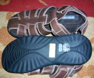 NEW REACTION BY KENNETH COLE, BOY'S BROWN LEATHER FISHERMAN SANDAL in St George, Utah