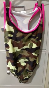 O.P. Camo/Hot Pink Swim Suite (T=33) in Fort Campbell, Kentucky