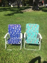 2 beach chairs in Honolulu, Hawaii