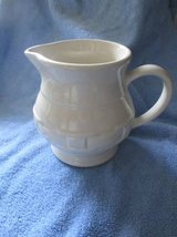 Longaberger Ivory Woven Pitcher Pottery in Fort Leavenworth, Kansas
