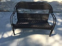 Outdoor Wicker Style Chair Bench For Refinisher in Camp Lejeune, North Carolina