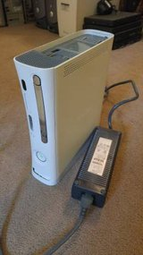 White Xbox 360 Red Ring Death with Power Brick in Bartlett, Illinois