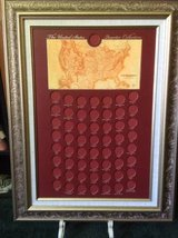 Framed US Quarter Collection in Macon, Georgia