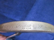 Acushnet Bullseye Putter 35A FLANGE USA Golf Club RIGHT-HANDED in Bolingbrook, Illinois
