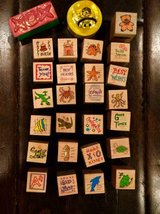 Rubber Stamps Set - 31 count! in Beaufort, South Carolina
