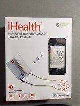 NEW ihealth bp5 wireless blood pressure arm monitor for apple and android in Houston, Texas