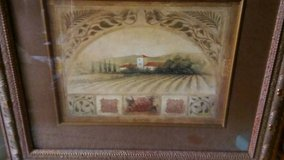 LARGE TUSCANY FRAMED PRINT in Melbourne, Florida