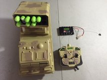 ignite the badger remote control mobile dart shootingtank (b1550) 27 mhz TANK BOYS TOYS in Houston, Texas