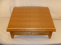 euc mini writing desk with one pull out drawer angled l 26 x w 23.5 x h 13 80063 in Huntington Beach, California