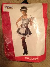Adult French Maid Halloween Costume, new, size L (10-12) in San Diego, California