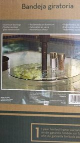 new glass Lazy Susan for garden table in San Diego, California