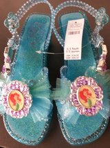 Disney Ariel light-up sandals; size 2/3 youth in San Diego, California
