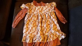 Festive fall dress size 3t or 4t in San Diego, California