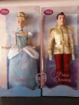 Disney's Cinderella And Prince Charming doll set in San Diego, California