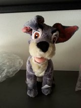 Disney's Lady and the tramp plush dog, new in San Diego, California