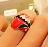 Rolling Stones ring, small adult in San Diego, California