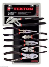 Tekton 3561 utility pliers set, 6-piece in Morris, Illinois