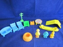 CBS TOYS 1984 Muppets Sesame Street Town Accessories VINTAGE in Glendale Heights, Illinois