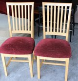 Two Pine Chairs in Fort Lewis, Washington