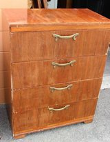 Four Drawer Waterfall Tall-Boy Dresser in Fort Lewis, Washington