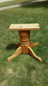 SOLID WOOD TABLE BASE in Joliet, Illinois