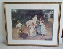 Picture - Gold Framed -Children Scene - From Bombay and Co. in Glendale Heights, Illinois