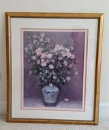 Picture - Gold Framed Floral Arrangement - From Bombay and Co. in Batavia, Illinois