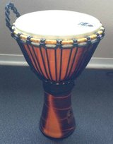 Djembe drum with pro shoulder strap in Houston, Texas