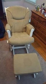 Glider rocking chair in Beaufort, South Carolina